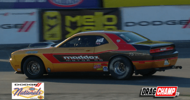 Craig Maddox wins Stock at the Dodge NHRA Nationals