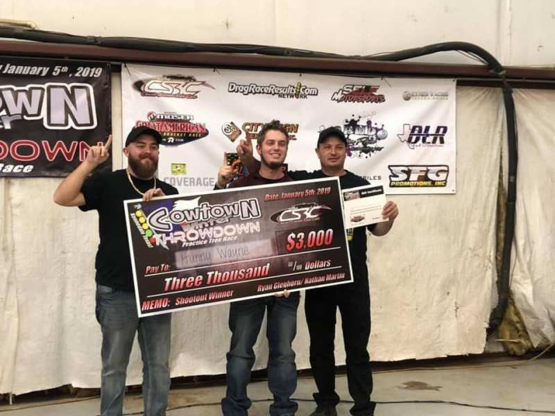 Cowtown Winter Throwdown Shootout Winner