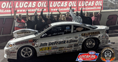 NHRA Division 7 LODRS results from Las Vegas