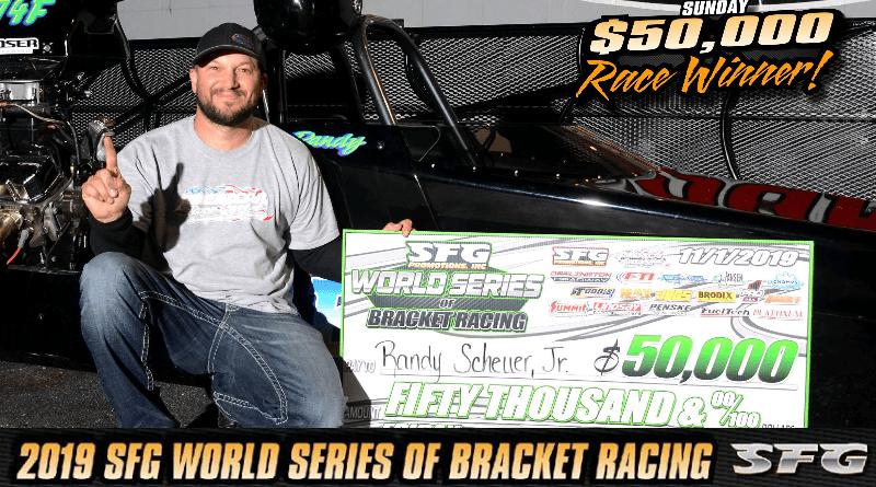 Randy Scheuer Jr wins 50K Sunday at SFG World Series
