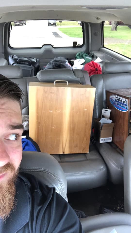 Gleghorn and the Dad Van