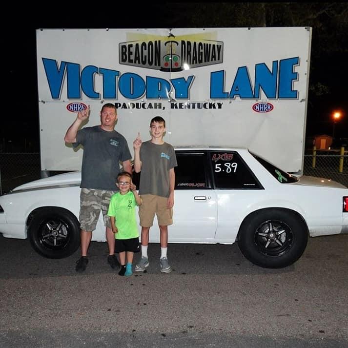 Lucas Victory Lane