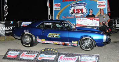 Edmond Richardson leads IHRA winners at US 131