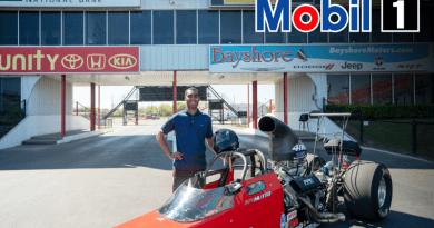 Justin Hutto Mobil 1 announcement
