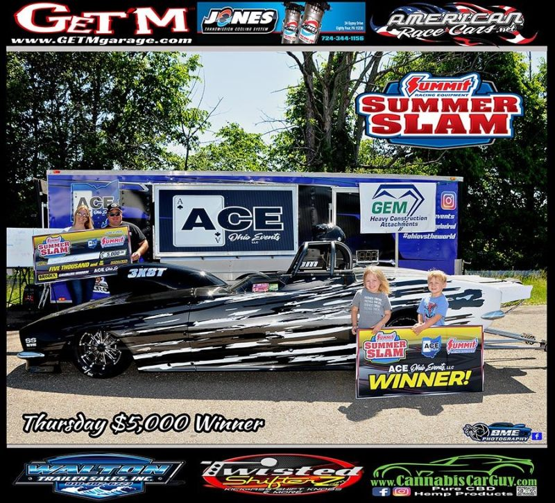 Scott Taylor ACE summer slam thursday 5k winner