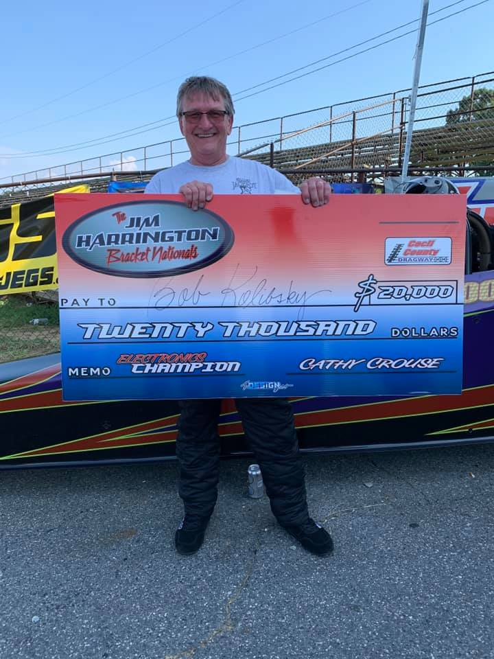 bob kolibsky sunday 20k winner jim harrington bracket nationals