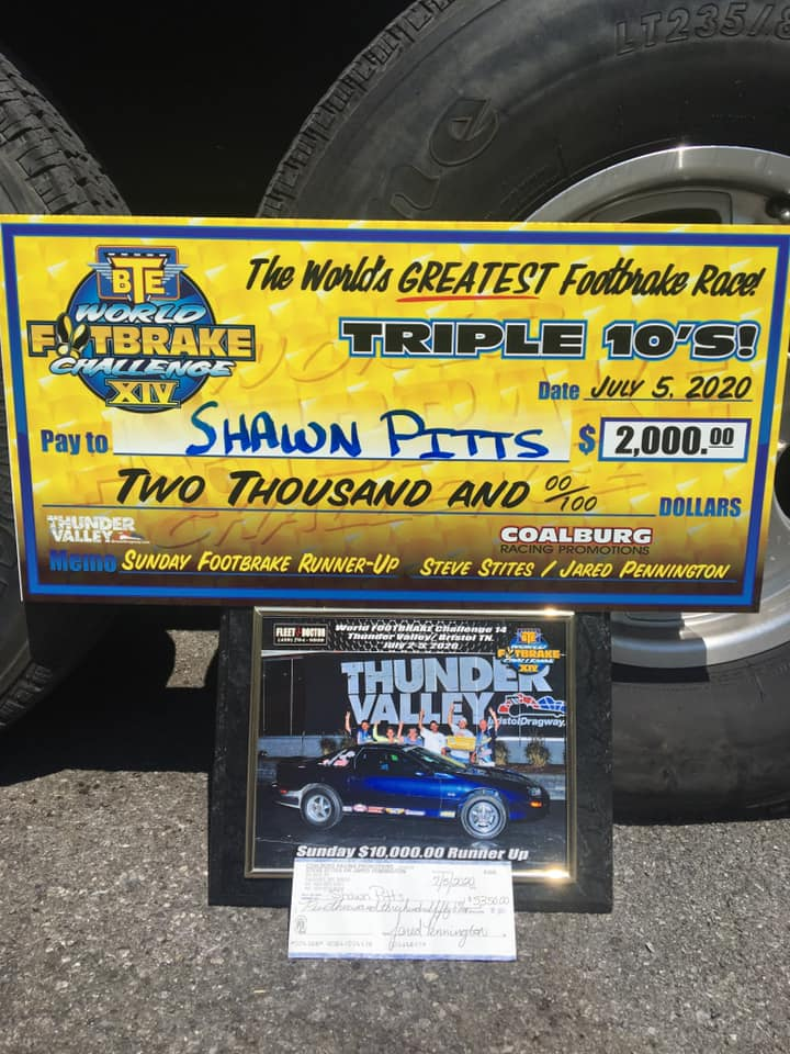 shawn pitts wfc sunday runner up check