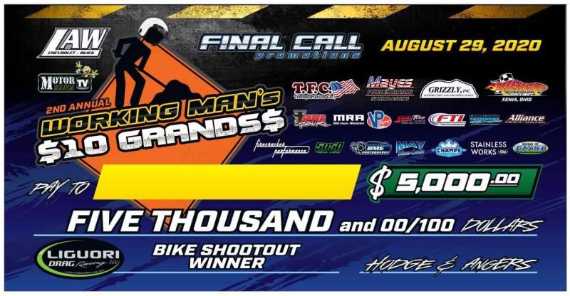 bike shootout 5k check final call promotions