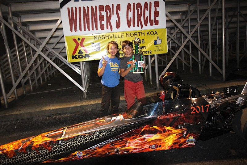 camden roberts junior dragster winner