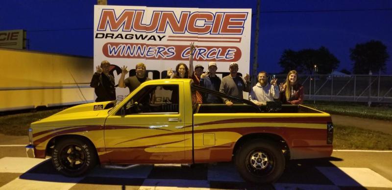 lil phil combs muncie dragway winners circle