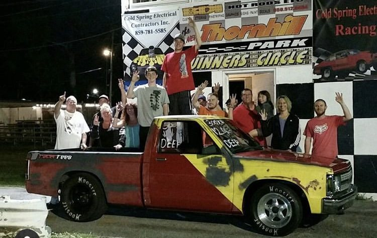 thornhill dragway winners circle lil phil combs