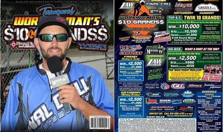 working mans 10 grands flyer 2020 final call promotions jake hodge