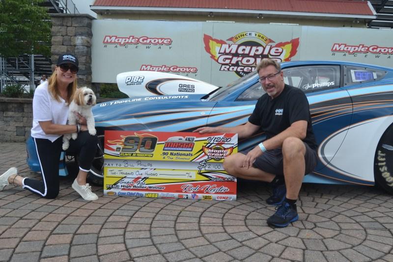 High Roller Super Gas winner Bill Phillips