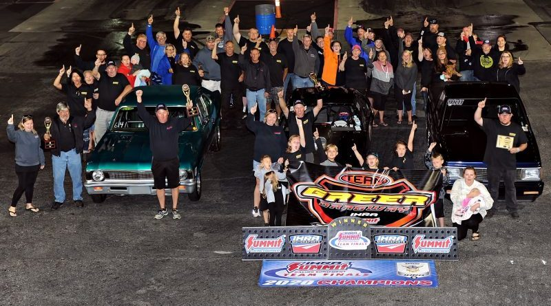 Greer Dragway Team finals winner ihra division 9