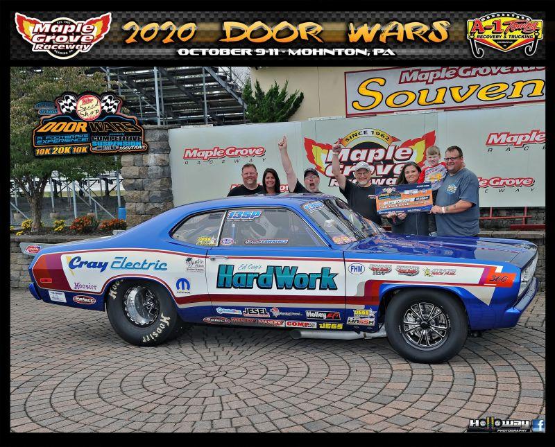 jason lawrence friday gamblers winner door wars maple grove raceway