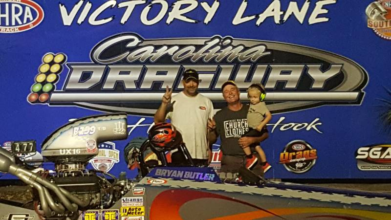 Bryan Butler sunday 10k runner up Carolina Big Bucks