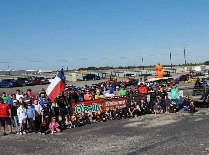 Group photo southwest jr dragster series