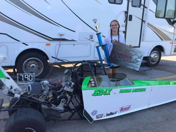 Hannah Anderson 790 index champion SWJDS