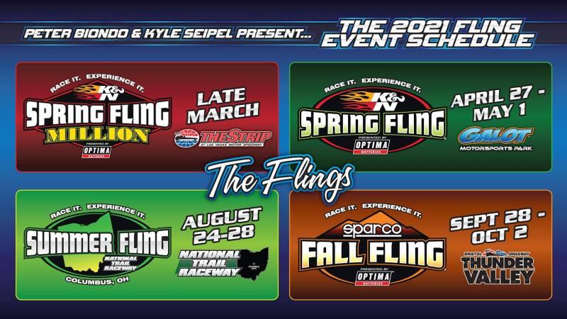 2021 fling schedule