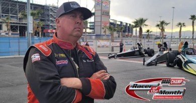 Bo Butner March Racer of the Month