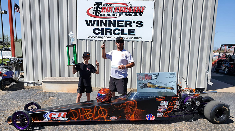 Winners Crowned at the Southwest Jr Dragster Series West Texas Nationals