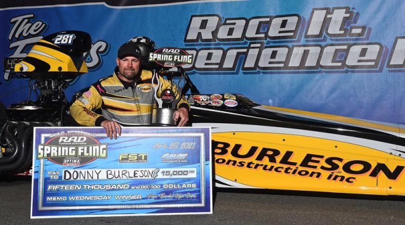 wednesday $15K warm-up winner donny burleson spring fling galot