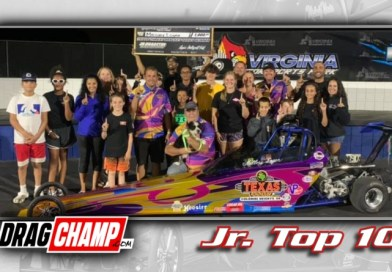 DragChamp Jr Racer Top 10 List with Mallory Logan