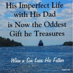 Quote from the Poem When a Son Loses His Father