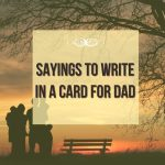 Greeting Card Sayings for Fathers