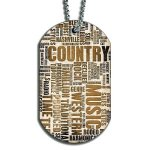 Country Music Dog Tags