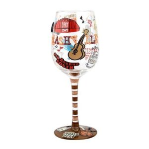 Grand 'Ole Opry Wine Glass
