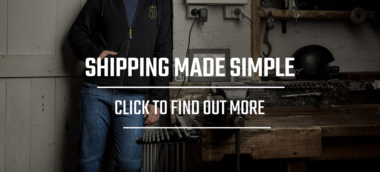 Draggin Jeans UK Shipping made simple click to find out more.