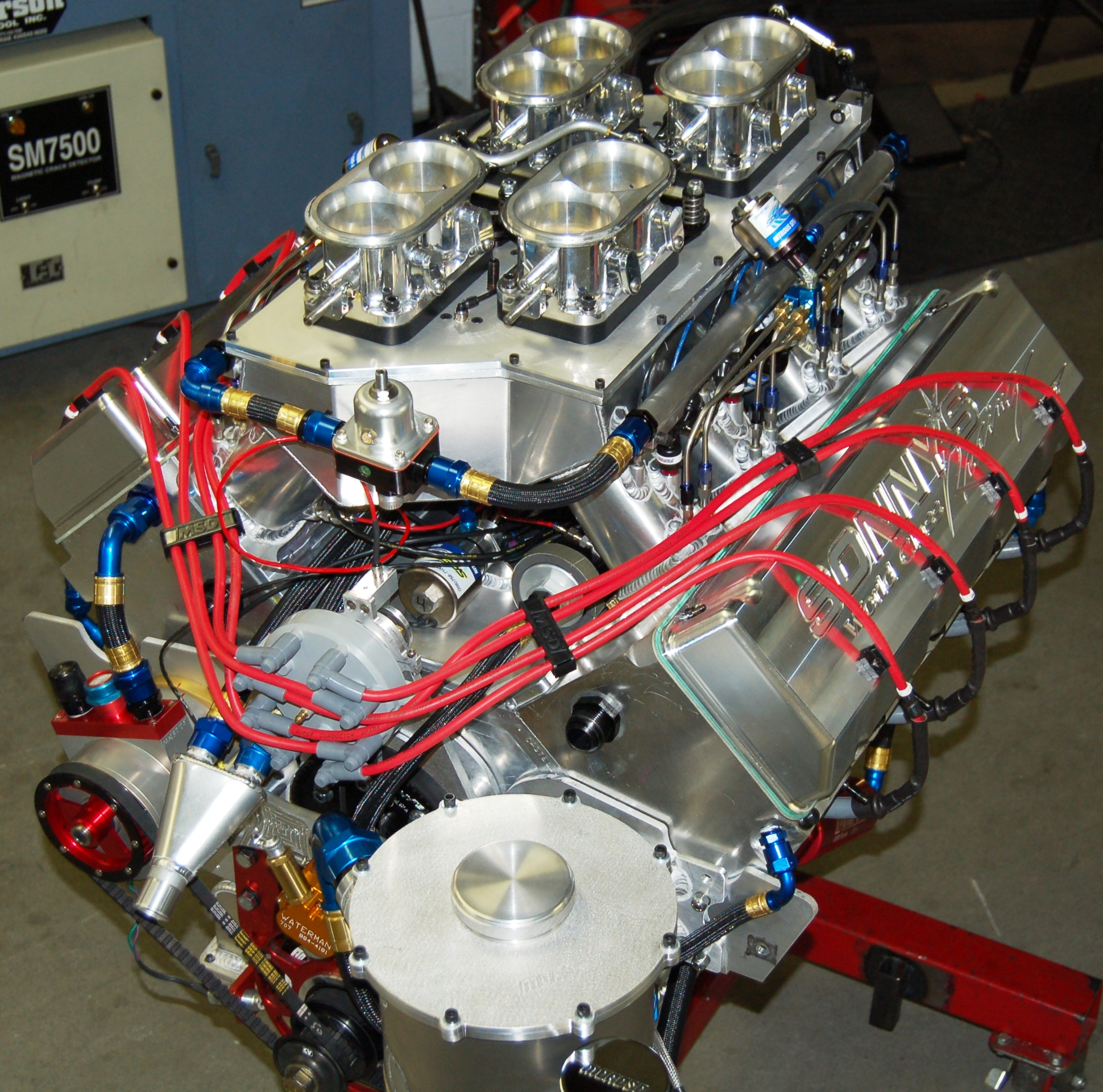 race engines fuel system diagram