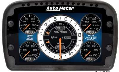 Auto Meter LCD Competition Race Dash
