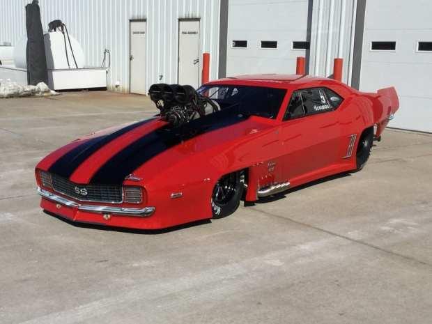 Jason Scruggs' new Camaro
