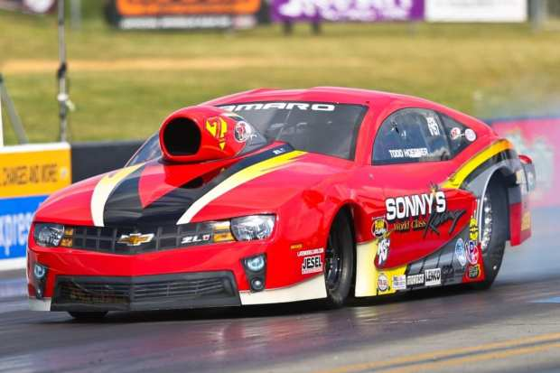 Hoerner Enjoys First NHRA MMPS Win, Hopes To Continue
