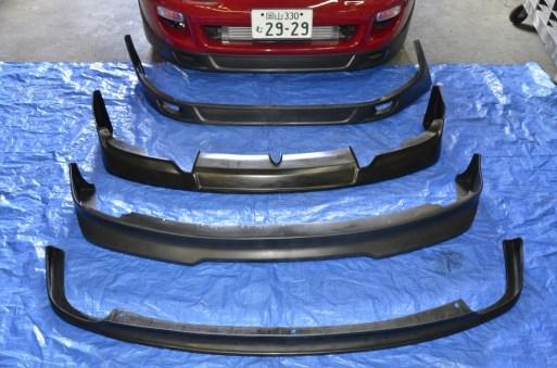 Front Lips IN Stock Supra GS300 S14 Silvia