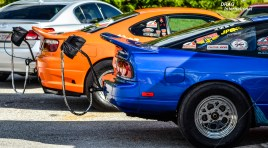 Nissan Drag Race Style - Team Orange!