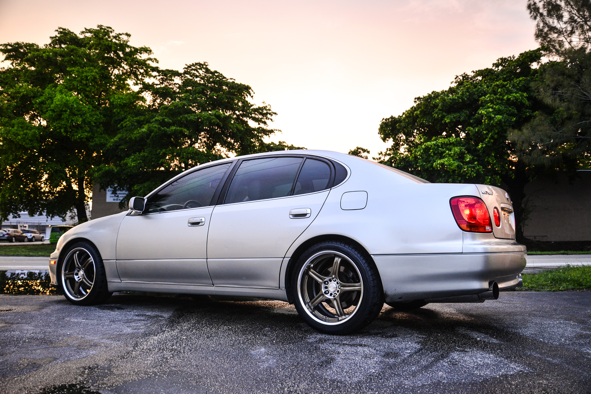 Reflecting on another Aristo Twin Turbo swapped GS300