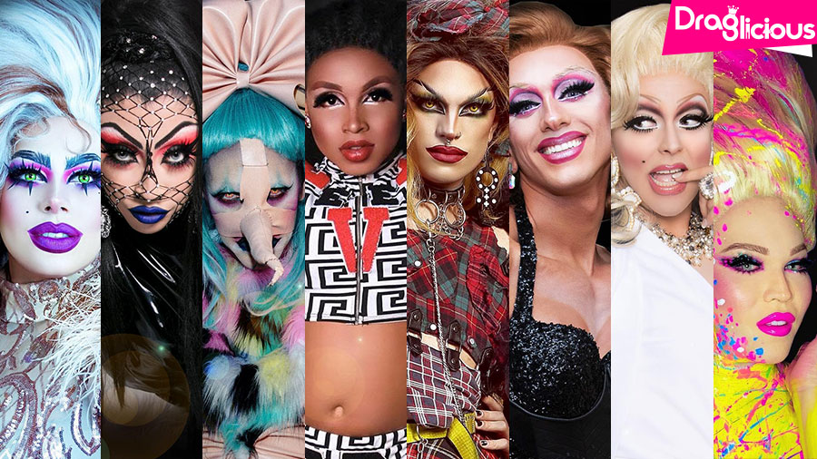 Drag Queen do Ano | 2019 | Elenco