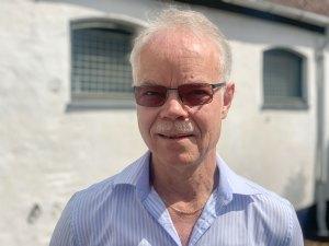 Jørgen Jansen kan fejre 40-års-jubilæum på Dragør Musikskole.