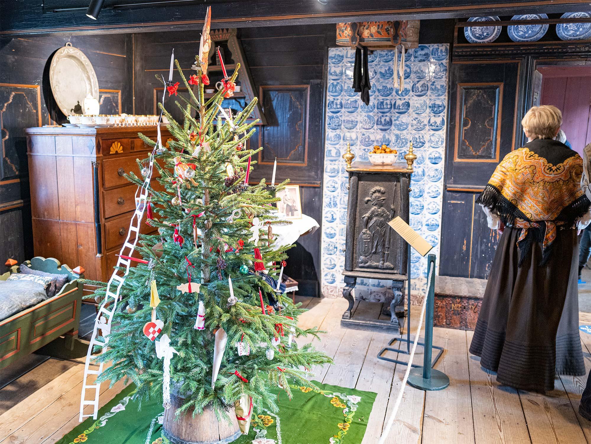Museets juletræ. Foto: TorbenStender.