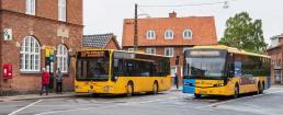 Med Movias nye web-app, plads-i-bussen.dk, kan man få en indikation af, hvor mange passagerer man kan forvente i bussen. Arkivfoto: TorbenStender.