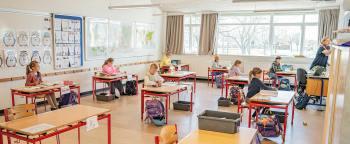 Rasmus Johnsen, skolechef i Dragør Kommune, oplyser, at man på skolerne er i gang med at gøre klar til genåbningen. Arkivfoto: TorbenStender.