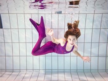 Dragør Svømmeklub har fået havfruer.