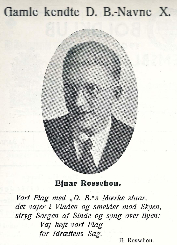 Ugens fodboldhistorie stammer fra et af Dragør Boldklubs klubblade fra 1934.