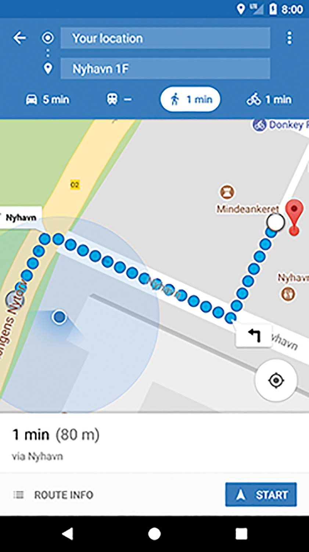 Appen FindToilet har oversigt over tilgænglige offentlige toiletter fra mange kommuner i Danmark– nu også i Dragør.
