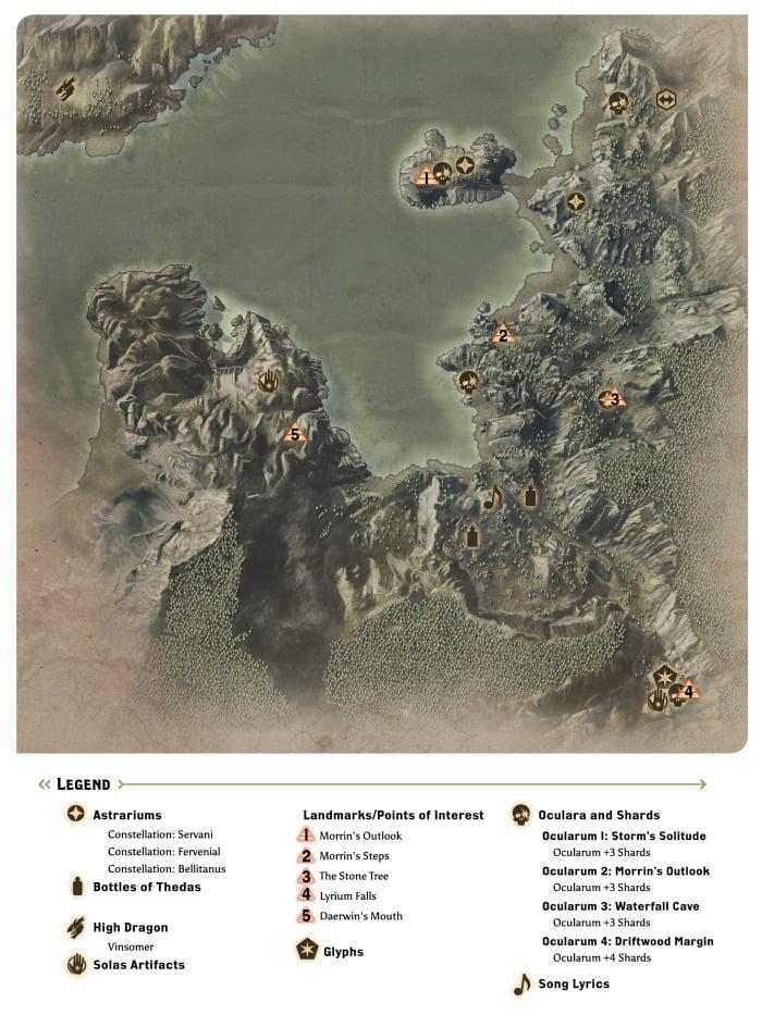 Dai Map To A Waterfall : waterfall, Dragon
