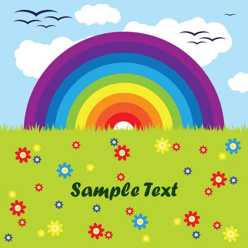_vector-rainbow-card-preview-by-dragonart