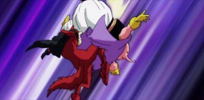 バジルの蹴り